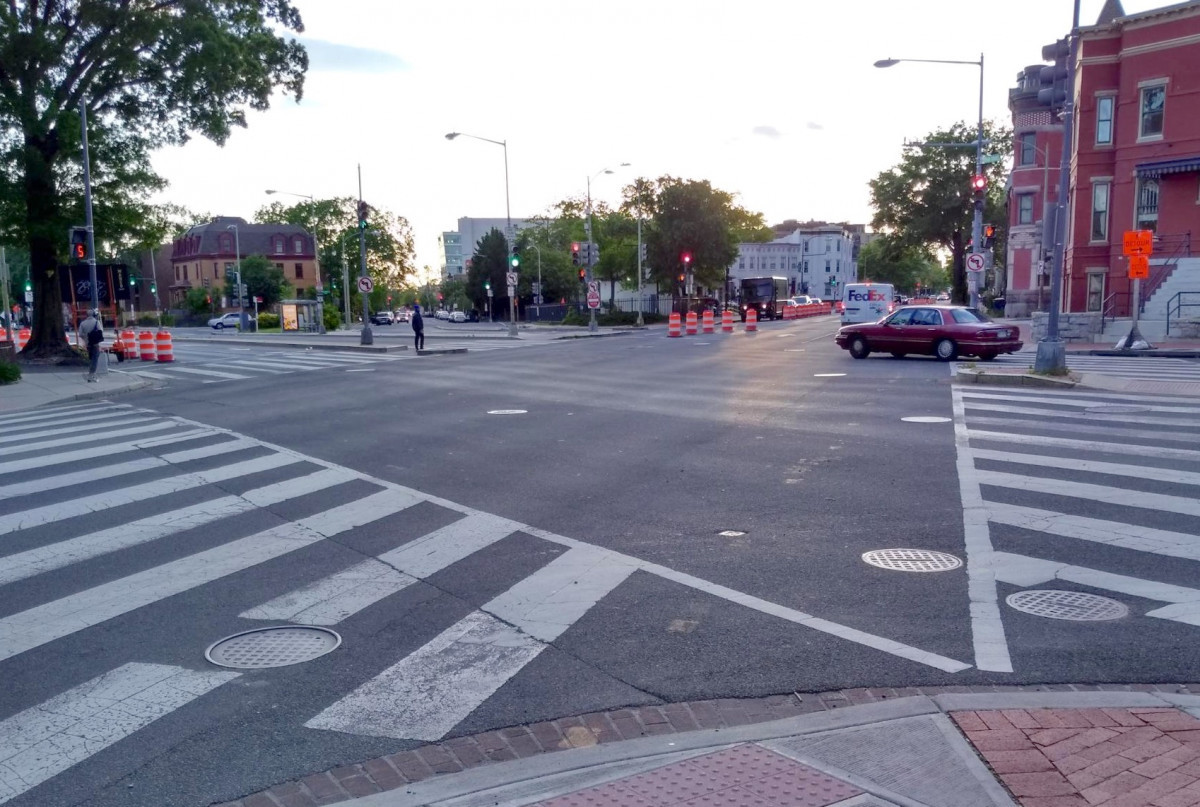 An ANC objects to slowing down cars on Florida Avenue because of 9/11
